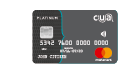 CUA Grey credit card
