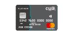 CUA Grey credit card