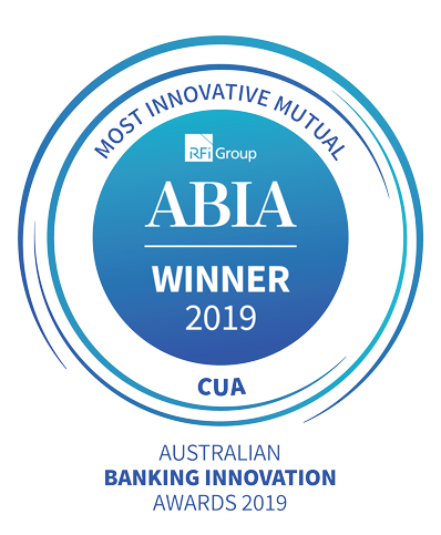 ABIA Winner 2019 - Most innovative mutual - CUA